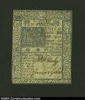Colonial Notes:Delaware, January 1, 1776, 10s, Delaware, DE-79, XF-AU. This is a very ...