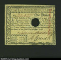Colonial Notes:Massachusetts, Massachusetts May 5, 1780 $1 Choice New. Fully signed and ...
