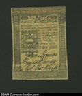 Colonial Notes:Pennsylvania, October 1, 1773, 50s, Pennsylvania, PA-170, Choice AU. This ...