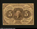 Fractional Currency:First Issue, First Issue 5c, Fr-1230, XF. This is a wonderfully margined ...