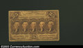Fractional Currency:First Issue, First Issue 25c, Fr-1282, VF. This first issue note has ...