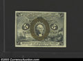 Fractional Currency:Second Issue, Second Issue 5c, Fr-1232, Choice-Gem CU. This is a very ...
