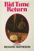 Books:First Editions, Richard Matheson. Bid Time Return....