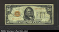 Small Size:Gold Certificates, 1928 $50 Gold Certificate, Fr-2404, Fine. This is a well ...