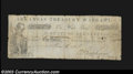 Obsoletes By State:Arkansas, 1861 $1 State of Arkansas Treasury Warrant, Little Rock, AR, ...