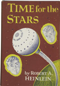 Books:First Editions, Robert A. Heinlein. Time for the Stars....