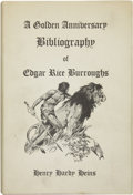 Books:First Editions, [Edgar Rice Burroughs] Henry Hardy Heins. A Golden AnniversaryBibliography of Edgar Rice Burroughs....