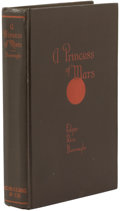 Books:First Editions, Edgar Rice Burroughs. A Princess of Mars....