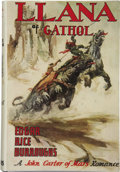 Books:First Editions, Edgar Rice Burroughs. Llana of Gathol....