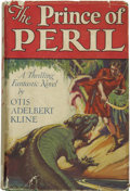 Books:First Editions, Otis Adelbert Kline. The Prince of Peril....