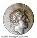Ancients:Greek, Ancients: Macedon, Kings of. Perseus, 178-168 B.C., AR tetradrachm(15.20 g), Diademed head of king right/ Eagle, standing right onth...