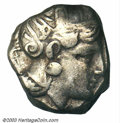 Ancients:Greek, Ancients: Attica, Athens, After 393 B.C., AR tetradrachm (12.52 g),Helmeted head of Athena right/Owl standing facing, SNG Cop 63,AVF...