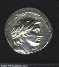 Ancients:Greek, Ancients: Syria, Kings of. Demetrios I, Soter, 162-150 B.C., ARtetradrachm (16.61 g), Diademed head of king right/Tyche, seatedleft,...