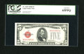 Small Size:Legal Tender Notes, Fr. 1529 $5 1928D Legal Tender Note. PCGS Gem New 65PPQ.. ...