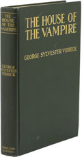 Books:First Editions, George Sylvester Viereck. The House of the Vampire....