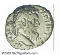 Ancients:Roman, Ancients: Pertinax, 193 A.D., AR denarius, (2.49 g), Laureate headright/Ops seated left, holding two corn-ears, RIC 8, AVF/F. Apres...