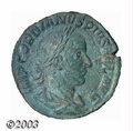 Ancients:Roman, Ancients: Gordian III, 238-244 A.D., AE sestertius (18.21g),Laureate, draped and cuirassed bust, right/Laetitia standing left,holdin...