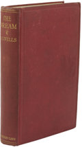 Books:First Editions, H. G. Wells. The Dream....