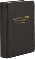 Books:First Editions, Stanley Weinbaum. Dawn of Flame and Other Stories....
