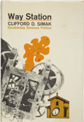 Books:First Editions, Clifford D. Simak. Way Station....