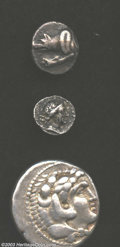 Ancients:Byzantine, Ancients: Roman and Byzantine Bronze coins including; Commodus AEAS 177-192 AD, C-378, VG; Augustus AE Dupondius 27 BC-14 AD, C-505,... (Total: 6 coins Item)