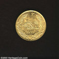 Afghanistan: , Afghanistan: Amanullah gold 2 Amani (20 Rupees) 1299SH (1920AD),KM-888, Fr-30. Choice AU, bold and fully lustrous....