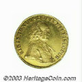 Austria:Salzburg, Austria: Salzburg. Sigismund III gold Ducat 1758, Fr-865, KM-381.Choice AU, prooflike surfaces and lovely old-time toning. ...