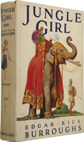 Books:Fiction, Edgar Rice Burroughs. Jungle Girl. Tarzana, California:Edgar Rice Burroughs, Inc. Publishers, 1932....