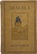 Books:First Editions, Bram Stoker. Dracula. New York: Doubleday & McClure Co.,1899. ...