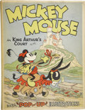 Books:First Editions, [Walt Disney Studios]. Mickey Mouse in King Arthur's Court.New York: Blue Ribbon Books, Inc., [1933]. ...