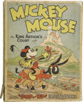 Books:First Editions, [Walt Disney Studios]. Mickey Mouse in King Arthur's Court.New York: Blue Ribbon Books, Inc., [1933]....