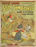 Books:First Editions, [Walt Disney Studios]. Mickey Mouse Presents his SillySymphonies; Babes in the Woods, King Neptune. New York: B...