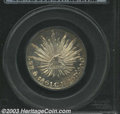 Mexico: , Mexico: Cap & Ray 2 Reales 1861-MoCH, KM-374.10. MS65 PCGS. Asuperb coin with blazing prooflike luster. ...