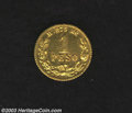 Mexico: , Mexico: Republic gold Peso 1882-MoM, KM410.5. Unc. with prooflikeluster, especially on the obverse. ...