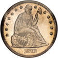 Seated Dollars, 1872-CC $1 MS64 NGC....