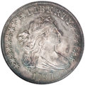Early Dollars, 1797 $1 10x6 Stars, Large Letters MS63 NGC....