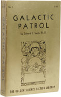 Books:First Editions, Edward E. Smith: Galactic Patrol. (Reading, Pennsylvania:Fantasy Press, 1950), first edition, 273 pages, gilt pictorial...
