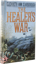 Books:First Editions, Elizabeth Ann Scarborough: The Healer's War. (Garden City, New York: Doubleday, 1988), first edition, 303 pages, blue qu...