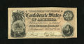 Confederate Notes:1864 Issues, T64 $500 1864. This is a crisp and bright Very Fine-Extremely Fine CSA high denomination with a couple pinholes visible....