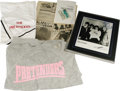 Music Memorabilia:Autographs and Signed Items, Pretenders Memorabilia and Signed Photo. Included is a size mediumPretenders t-shirt; a size medium Pretenders sweatshirt; ...