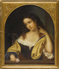 Fine Art - Painting, European:Antique  (Pre 1900), A French 19th Century Portrait. Unknown artist, French