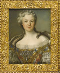 Fine Art - Painting, European:Antique  (Pre 1900), A French 19th Century Portrait. Unknown, French. NineteenthCentury. Pastel on paper. Unsigned. 21.5 inches x 16.5 inches...