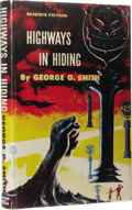 Books:First Editions, George O. Smith: Highways in Hiding. (New York: Gnome Press,1956), first edition, 223 pages, jacket design by Ed Emsh, ...