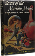 Books:First Editions, Donald A. Wollheim: The Secret of the Martian Moons.(Philadelphia: The John C. Winston Company, 1955), first edition,2...
