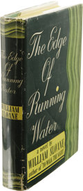 Books:First Editions, William Sloane: The Edge of Running Water. (New York: Farrar& Rinehart, 1939), first edition, 295 pages, green cloth wi...