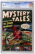 Golden Age (1938-1955):Horror, Mystery Tales #1 (Atlas, 1952) CGC VF+ 8.5 Off-white to whitepages. ...
