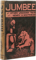 Books:First Editions, Henry S. Whitehead: Jumbee. and Other Uncanny Tales(Sauk City: Arkham House, 1944), first edition, 394 pages, jacke...