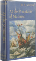 Books:First Editions, H.P. Lovecraft: At the Mountains of Madness. (Sauk City:Arkham House, 1985), first edition thus, corrected fifth printi...