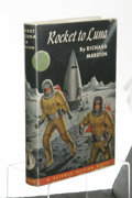 Books:First Editions, Richard Marsten: Rocket to Luna. Edited by Cecile Matschat.(Philadelphia: The John C. Winston Company, 1953), first edi...