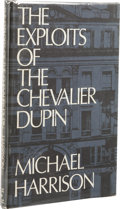 Books:First Editions, Michael Harrison: The Exploits of the Chevalier Dupin.Introduction by Ellery Queen (Sauk City: Mycroft & Moran,196...